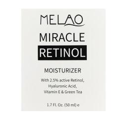 有機性保湿剤の反しわの反老化のビタミンAのRetinolの表面クリームのプライベートラベル
