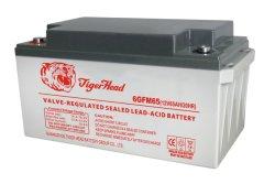 12V 65Ah profonde de l'AGA du cycle de gel de l'onduleur de plomb-acide de batterie solaire