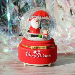 Populaires de Noël Boule de cristal La Boîte à musique pour la promotion