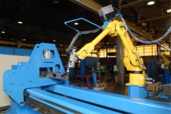 Fanuc Yaskawa ABB Kuka robot industriel de soudage Station de travail intégré