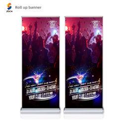 L'abitudine stabile di promozione dell'UPS del rullo di alluminio tir suare la bandiera per la mostra