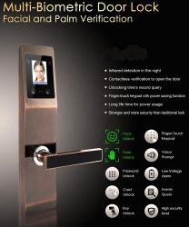 La prima serratura di portello facciale astuta di Digitahi di obbligazione della serratura di portello di riconoscimento di fronte del mondo con il professionista