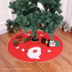 クリスマスツリーのカーペット毛布の新年のクリスマスの製品の装飾