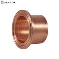 Alambre de cobre estañado tipo oval cuerda férula férulas de cobre el conector