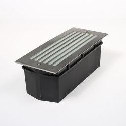 Vente en vrac 10w Coin Fixture encastré en aluminium d'Éclairage Éclairage de marchepied