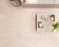 Polidos porcelana vidrada mármore de Carrara piso de azulejos de cerâmica para banheiro/Lobby/