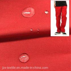 T/C tecido sarjado 65%Polyeseter 35%algodão 240gsm, 14X14 80X54 Acabamento de Teflon de 2/1 kg308 vestuário de malha uniforme escolar Chef