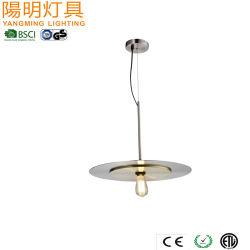 Lampe de la poignée de commande du panneau suspendu lampe moderne du restaurant