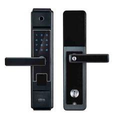 2019 Nouveau Style Simple Smart serrure de porte d'empreintes digitales avec capteur semi-conducteurs et écran tactile
