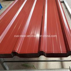 bladen van het Dakwerk van het Staal van het Dak Tiles/PPGI van het Metaal van 0.35*840mm de Colorbond Vooraf geverfte voor Deuren
