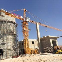 6t строительство здания на гидравлической системы воздвигает 56м гусек молотка головки Topkit башни крана