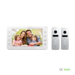 Interphone vidéo 7 pouces de sécurité à domicile Door Phone système intercom