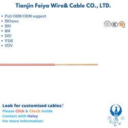 Flry-a 0,22mm2 aislados con PVC de pared delgada de automóviles eléctricos cable