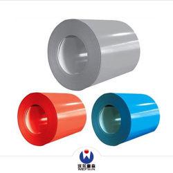 ISO BV는 코팅 강철 Coill 강철 루핑 코일 건축재료 강철 코일 PPGI Prepainted 직류 전기를 통한 강철 코일을 착색한다