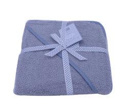 주문 대나무 또는 면 아기 목욕 수건 두건이 있는 아기 수건