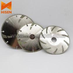 125mm a plaqué le diamant scie la lame pour Mables, pierres molles