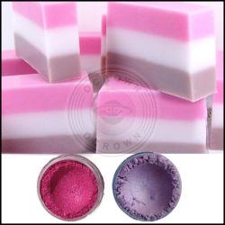 Hot Vente de poudre de mica de grade cosmétique Fabrication de savon en poudre Pigment
