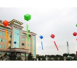 Inflables de PVC de color de la publicidad de cubo de Helio Globos de Aire con logotipo personalizado GM981