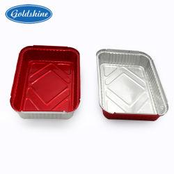 Contenedor de papel de aluminio para la alimentación Catering