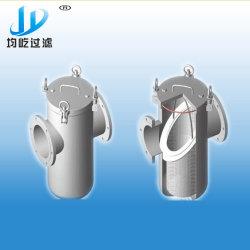 Fabrieksfabrikant Roestvast stalen korf type filter, bak strainer