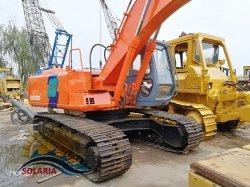 Utilisé au Japon d'origine de la construction de la machine excavateur Hitachi EX200 l'arracheuse à chenilles