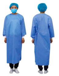 病院PPEの医者の使い捨て可能な防護服の衣類のための防護衣に着せる高品質のつなぎ服の使い捨て可能な外科隔離