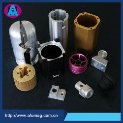 Perfil de Extrusión de Aleación de Aluminio Anodizado Piezas de Mecanizado de Precisión CNC, Accesorios de Fresado / Torneado / Punzonado / Forjado