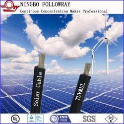 2.5mm2 4mm² 6mm² 10mm² Anerkanntes doppeltes Isolier-PV elektrischer Strom-Solarkabel TUV-2pfg1169