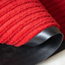 Banda de PVC doble nervadura de Alfombras alfombras de rollo alfombras de poliéster en el pasillo del hotel