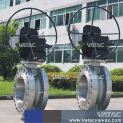 압축 공기를 넣은 액추에이터를 가진 통제를 위한 청동, 던지기 스테인리스 또는 철 러그, 웨이퍼 & 플랜지 RF 산업 나비 벨브