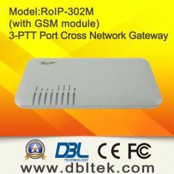 Radio au-dessus du Gateway RoIP-302M d'Internet et de Croix-Réseau de GM/M