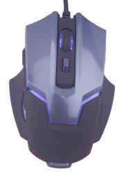 Мыши разыгрыша компьютера связанные проволокой Mouse/USB на мышь 7 разыгрыша мыши Msg-X1 PC застегивают черноту 3200 Dpi