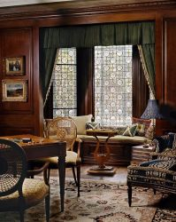 Decoração arte janela Painel de vitral