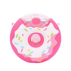 도넛 플라스틱 실리콘 BPA는 FDA 스포츠 아이들 아이 Gril 식용수 병 안전을 해방한다