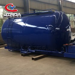 製造者の高品質のJinda 3の車軸小型水漕のトレーラーのセメントのトレーラー水販売のためのプラスチックタンクトレーラー