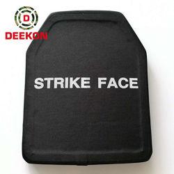 Deekon Nij III de la alúmina chalecos balísticos personalizadas placa y las placas de óxido de aluminio y de la placa de armadura de PE