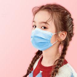 In het groot Beschikbare verhindert het de virus-Preventie van het Gezicht Masker voor Kinderen Niet-geweven 3ply Gezichts Beschermende Masker van de Veiligheid van het Stof van de Besmetting het Gediplomeerde in Voorraad