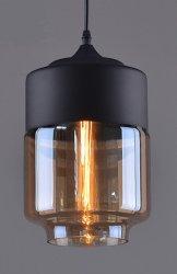 De Amerikaanse Hangende Lamp van het Glas van de Stijl van het Land Creatieve met 1 Lamp Geschikt voor het Huis van de Koffie, Kledend Winkel en Restaurant