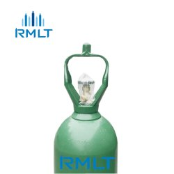 Medizinischer Sauerstoffbehälter mit Cga 540 Ventil und Griff