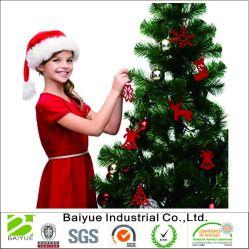 De Ornamenten van de Decoratie van de kerstboom in Rode Gevoelde Sneeuwvlokken