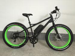 [500و] 26 بوصة سمين إطار العجلة كهربائيّة جبل [إ-بيك] منتصفة محرّك [ديسك برك] [ليثيوم بتّري] درّاجة