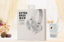 Superbaß-Computer-Kopfhörer des Flachkabel-Kopfhörer-Mdr-Xb450ap