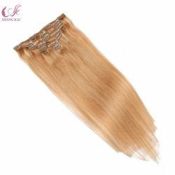 100% من الشعر البكر البشري الشعر الطبيعي الشعر في الشعر ريمي الرقم الداخلي