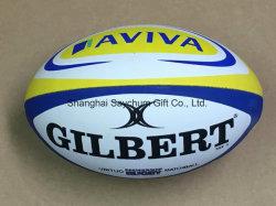 Stile giocattolo promozionale personalizzato con logo e palla da stress tipo rugby Sfera di sollecitazione