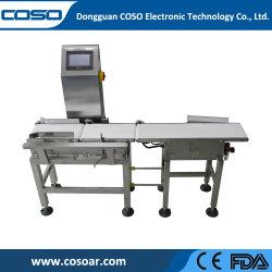 Paquet de pesage à fonctionnement automatique en ligne et de contrôle du poids de tri de peseur Vérification de la machine avec Smart le poids du système