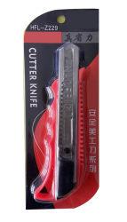 Offieの供給のためのABSハンドルのナイフのカッターの金属の文房具の実用的なナイフ