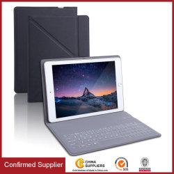 Ультра тонкая крышка стойки случая клавиатуры PU кожаный Bluetooth для iPad