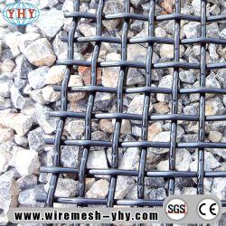 ステンレス鋼304の鉱山のための編まれた振動スクリーンの網