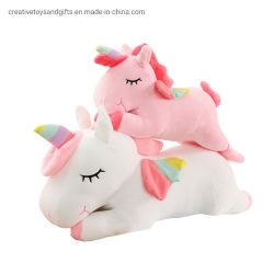 Vendita a caldo all'ingrosso Baby Toy personalizzato alta qualità Direct Factory Ragazze adorabile bambola rosa Baby Mascot peluche morbido giocattolo cute Giocattoli unicorno con animali da plush giganti