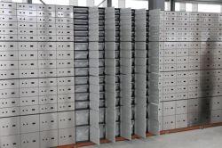 Os fabricantes chineses a garantia de qualidade personalizado Banco de Alta Qualidade Cofre de segurança